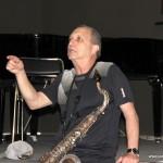 """Майсторски клас на саксофониста Джордж Гарзон (""""Бъркли колидж"""", САЩ)"""